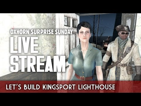 Oxhorn Surprise Sunday Live Stream - Let's Build Kingsport Lighthouse