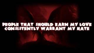 Shai Hulud - Given Flight by Demons Wings With Lyrics