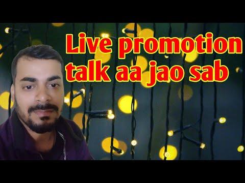 Aa Jao Sab Live Promotion Ho Raha Hai