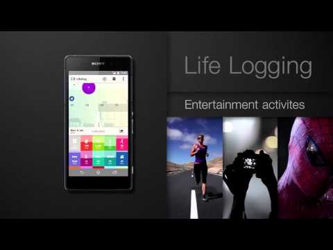 Application Sony Lifelog (smartwatch & smartband) - Cobrason