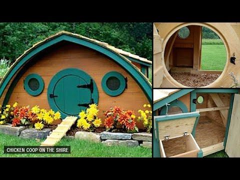 20 Awesome Chicken Coop Designs and Ideas