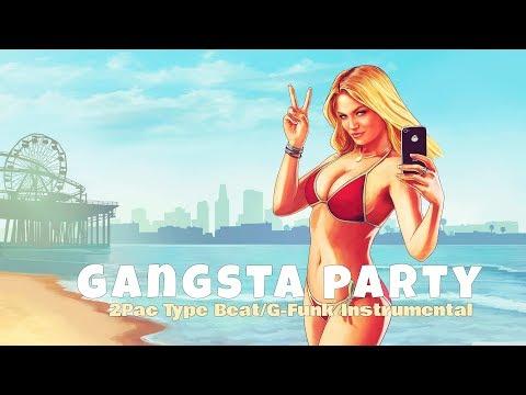 ♛ [FREE] 2PAC x Nate Dogg/Snoop Dogg Type Beat | 90' G-FUNK Instrumental | ''Gangsta Party'' 2017