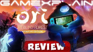 Ori and the Blind Forest Definitive Edition REVIEW (Nintendo Switch) Thinking Outside the (X)box (Video Game Video Review)