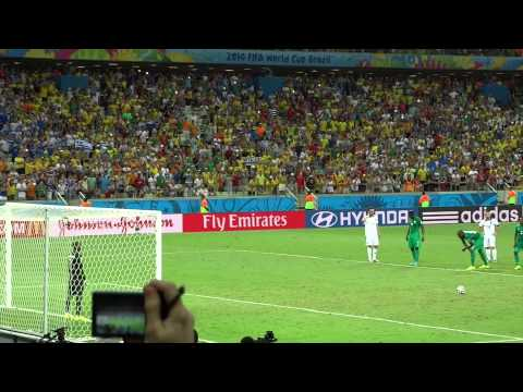 Samaras Penalty vs Ivory Coast