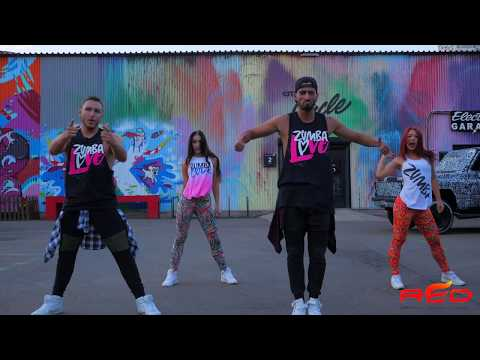 Major Lazer – Buscando Huellas (feat. J Balvin & Sean Paul) | Zumba Fitness