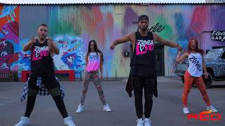 Major Lazer - Buscando Huellas (feat. J Balvin & Sean Paul) | Zumba Fitness