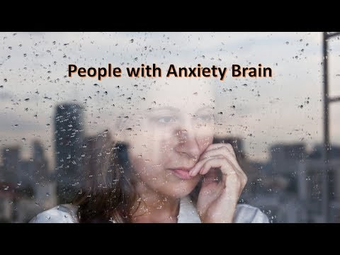 People with Anxiety Brain