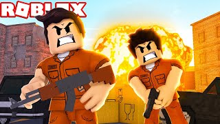 ROBLOX-SURVIVE UNTIL the END OF the MATCH! (Prison Royale)