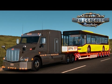 American Truck Simulator: Passenger Bus - Burlington VT to Montreal QC