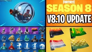 🔴 *NEW* FORTNITE UPDATE V8.10 NEW VEHICLE BALLER, SKINS, WRAPS, LTM & MORE COME JOIN IN