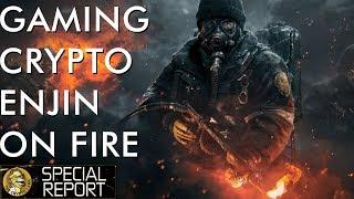 Gaming Crypto Enjin Exploding with Samsung Partnership & Thriving Ecosystem