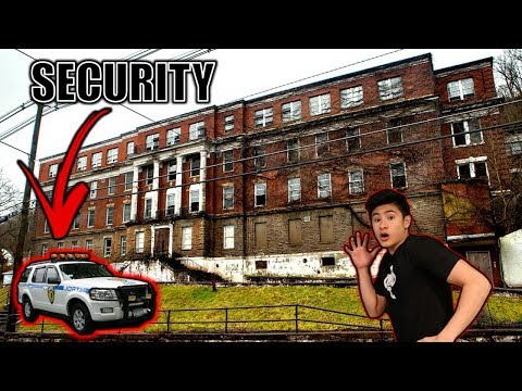 CHASED OUT OF ABANDONED COLLEGE BY SECURITY!