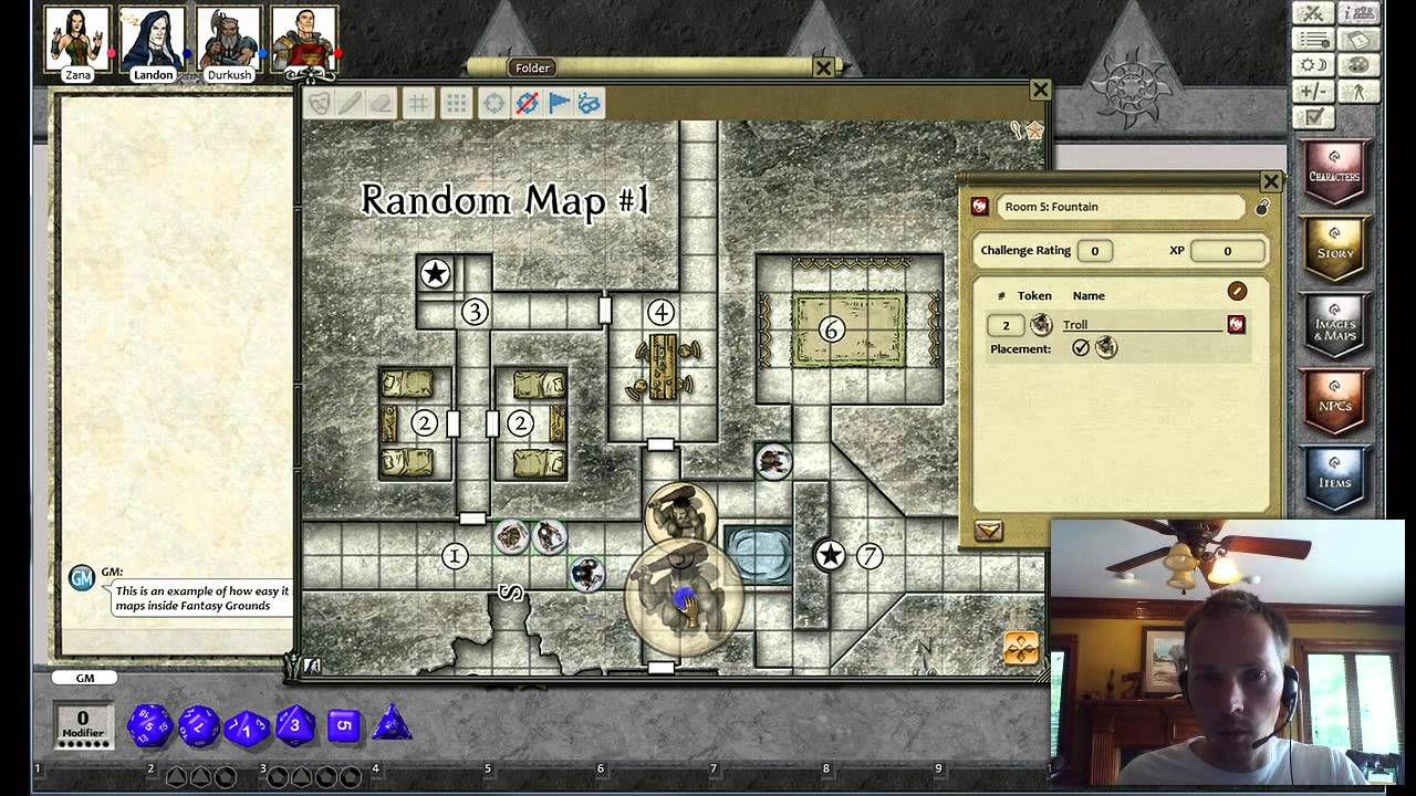fantasy grounds maps virtual