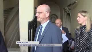 Yvelines | Jean-Michel Blanquer lance un campus d'excellence à Versailles