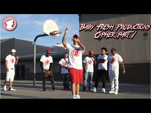 The Baby Fresh Productions Cypher Part 1 | OFFICIAL VIDEO | Shot By Dream It Creations