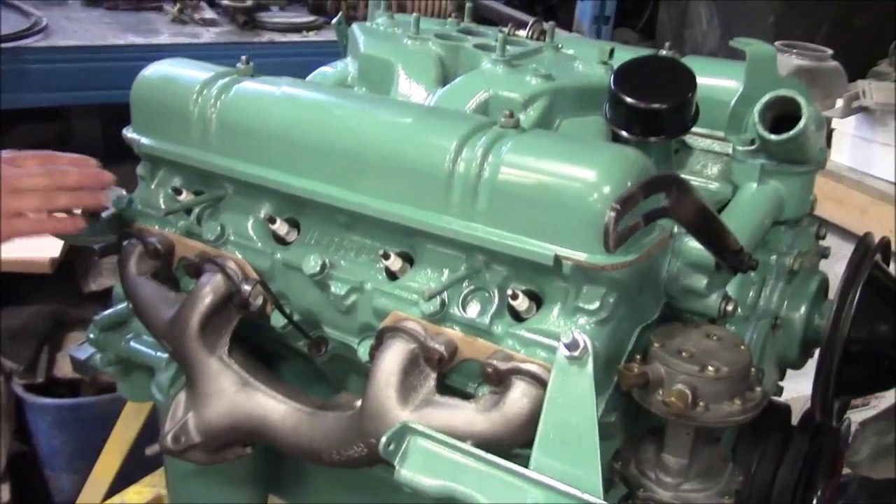1954 Buick Nail Head V8 Restoration Update, Engine Work Part 5,  lastchanceautorestore com