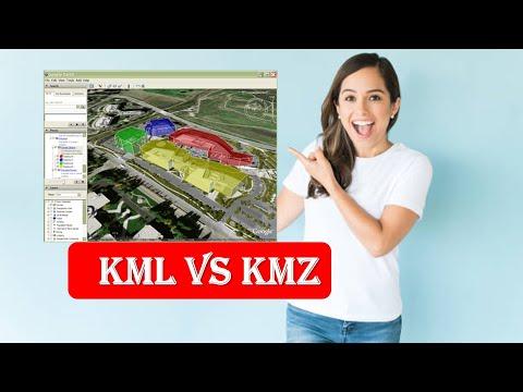 Difference between KML & KMZ