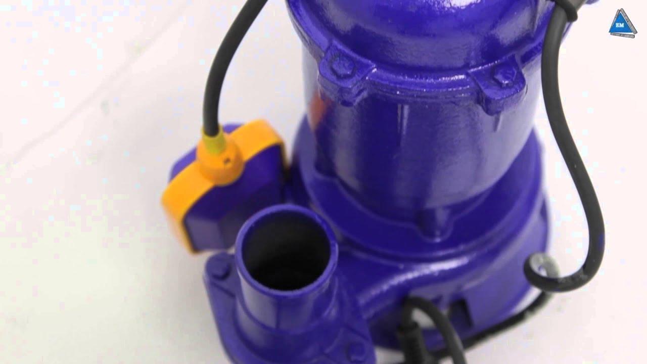 Дренажные насосы ASP 750 C и D - для любой воды. - YouTube