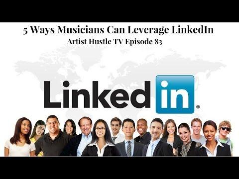 LinkedIn Marketing For Musicians   ArtistHustle TV Episode 83