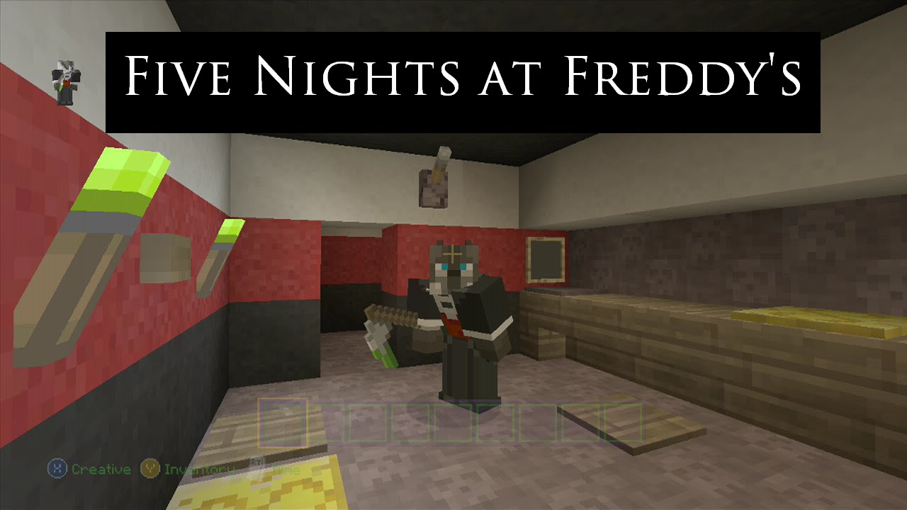 minecraft 5 nights at freddy games