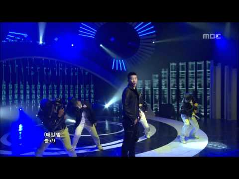 Jay Park - Abandoned(feat. Dok2), 박재범 - 어밴던(feat. 도끼), Music Core 20110514