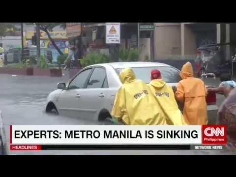 Experts: Metro Manila is sinking