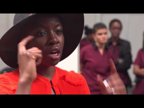 Danai Gurira Offers Advice To Young African Leaders In Johannesburg