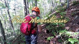 Mountain Biking Fire Mountain at Cherokee NC