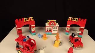 PLAYMOBIL - O Quartel dos Bombeiros - Filme em stop motion