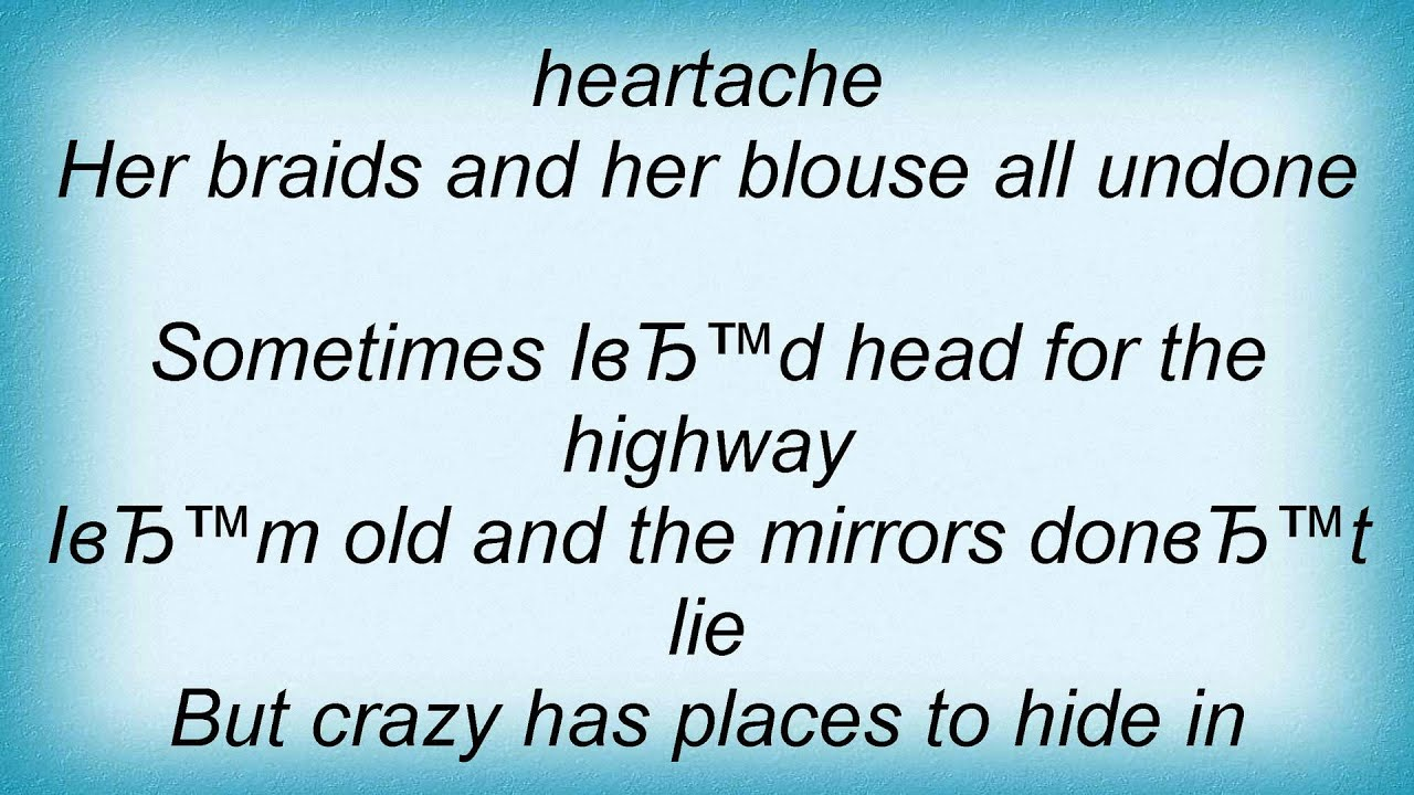 Download Leonard Cohen - Crazy To Love You Lyrics