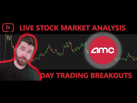 🔴AMC BUY THE DIP, LIVE Stock Market Today, Stock Ticker Request! Hot Stocks