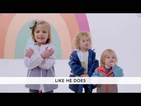 Preschool Dance Moves - He Is Amazing