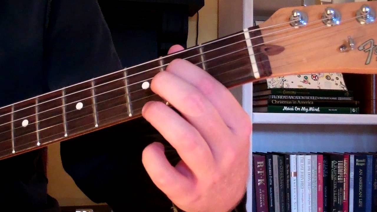 play asus chord guitar suspended chord youtube