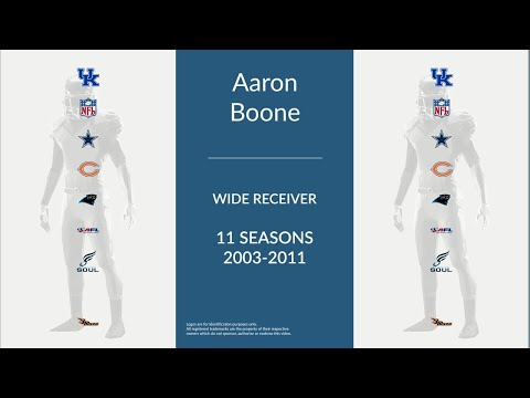 Aaron Boone: Football Wide Receiver