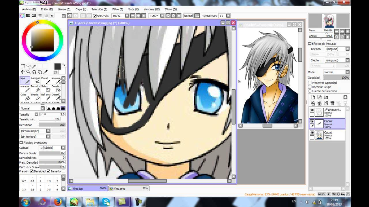 anime face maker edit paint tool