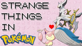 10 Of The STRANGEST Things In Pokemon