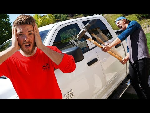 If you lose, We Destroy your CAR!!