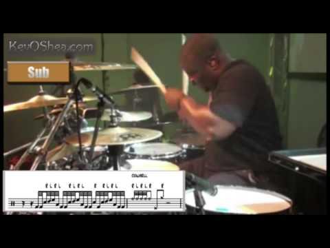 Free Drum Lessons   Chris Coleman Gospel Chops Drum Fill