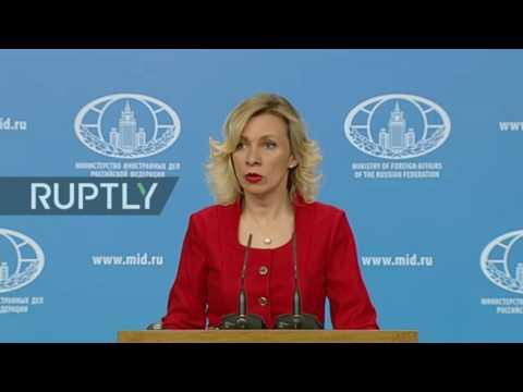 Volltreffer! Russisches Außenministerium antwortet US-Außenminister Rex Tillerson - Deutsch