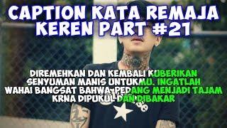 Caption Kata Remaja Keren (status wa/foto) - Quotes Remaja Part #21