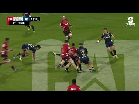 BNZ Crusaders v Highlanders 2019 Highlights