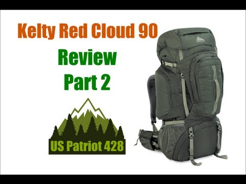 Kelty Red Cloud 90 (5600ci) - Part 2 Review