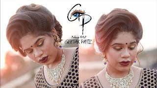 indian makeup n hair artist Geetak patil