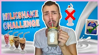 MILKSHAKE CHALLENGE | Tsede The Real