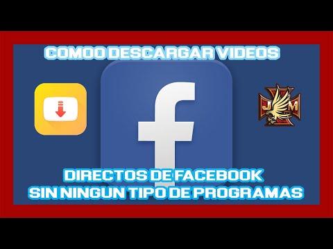 ✅ COMO DESCARGAR VÍDEOS de FACEBOOK directos live desde el PC 2020