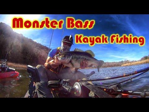 Brazos River, Kayak Fishing, MONSTER BASS!