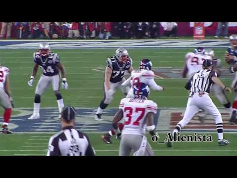 Giants Defense Highlights - Super Bowl XLII - 60fps