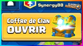 clash royale pack opening coffre de clan dfi avec bfa