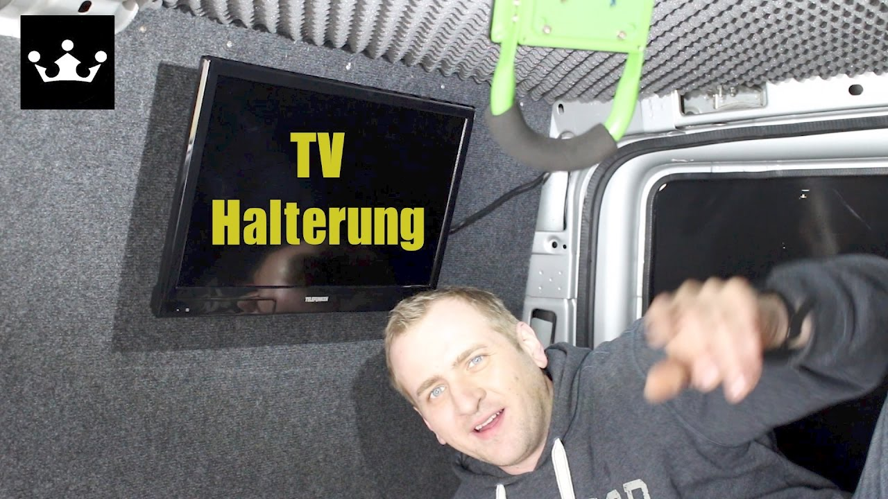 tv wandhalterung test review transporter ausbauen zum wohnmobil youtube. Black Bedroom Furniture Sets. Home Design Ideas