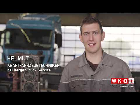 Firma Berger Truck Service / Lehrberuf Kraftfahrzeutechniker